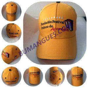 Gorra americana beisbolera bordada
