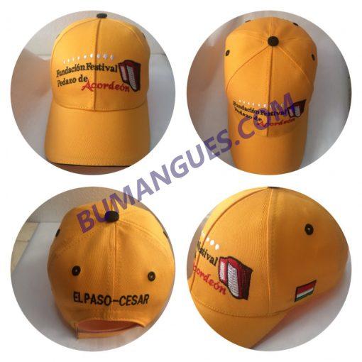 Gorras de Publicidad Bordadas - Bumangues