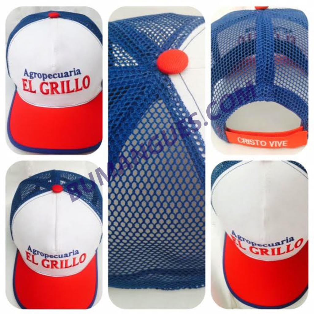 Gorras Basicas en Malla