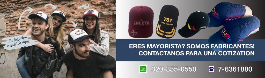 Gorras y Bordados Bumangues Mayoristas
