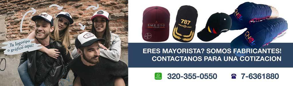 Gorras para mayoristas Bumangues