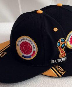 Gorra Seleccion Colombia - Mundial de Futbol Rusia 2018 - Color Azul Oscuro - Ordena Ya!