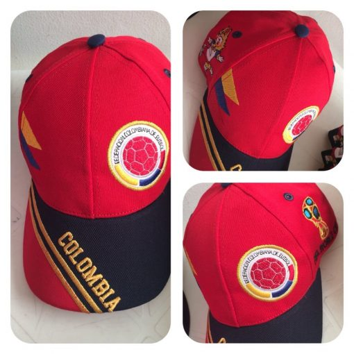 Gorra Mundial de Futbol Colombia