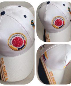 Gorra Mundial de Futbol Blanca